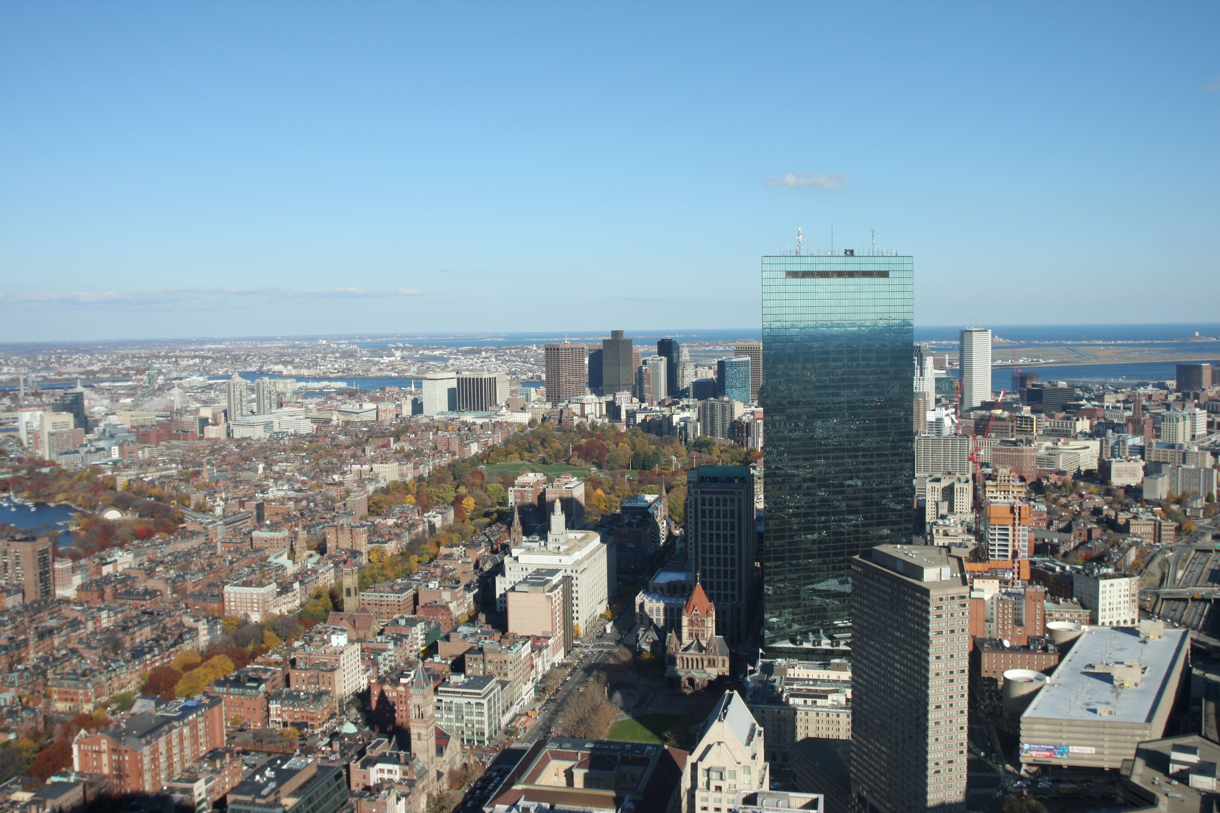 how tall is boston skywalk